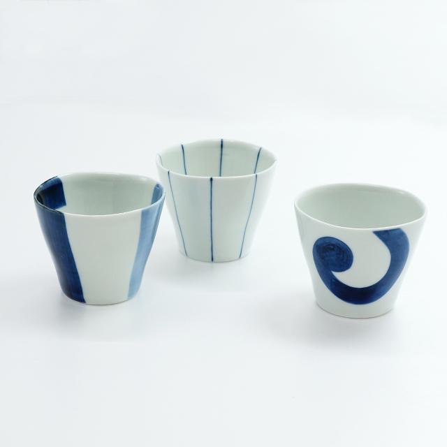 染付高仙茶(フリーカップ)