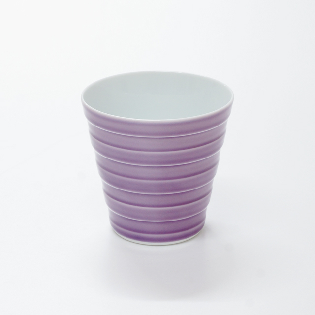 波佐見焼 康創窯 カラーライン フリーカップ カラフル