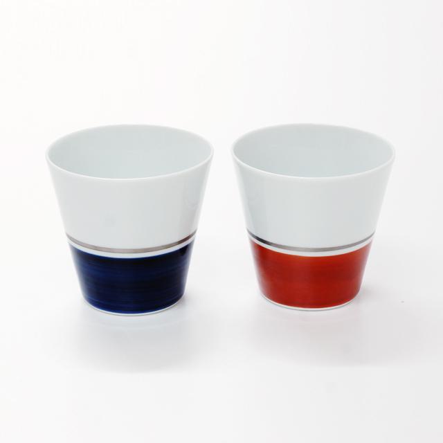 波佐見焼 康創窯 プラチナライン フリーカップ