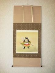 掛け軸 金太郎◆伊藤薫風
