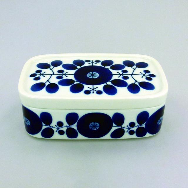 白山陶器 ブルーム バターケース