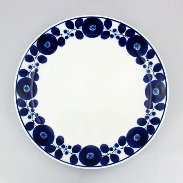 白山陶器 ブルーム ディナープレート リース