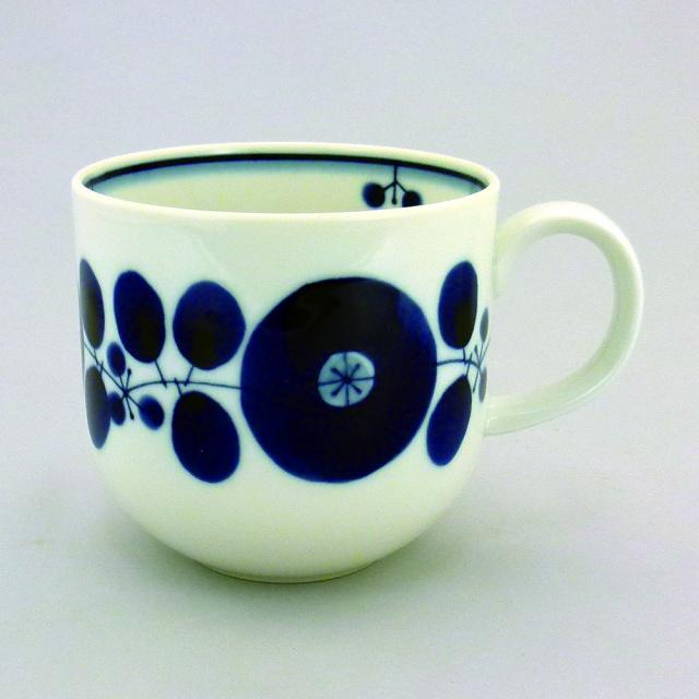 白山陶器 ブルーム マグ リース