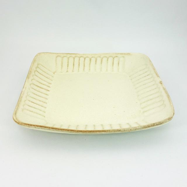益子焼 kinari鎬 角皿