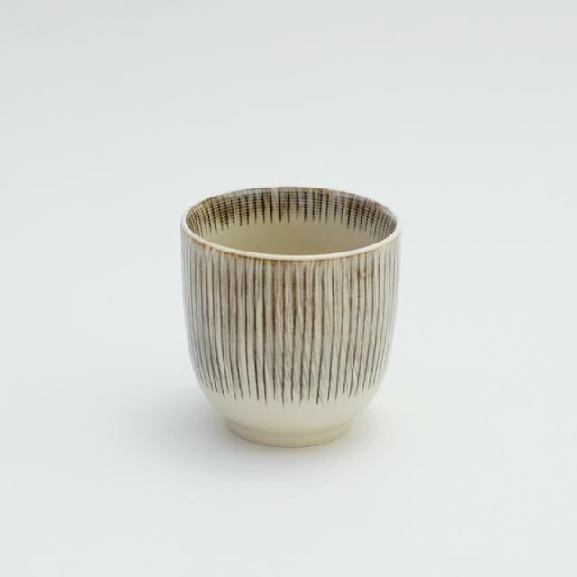 波佐見焼 十草彫 湯呑(茶)