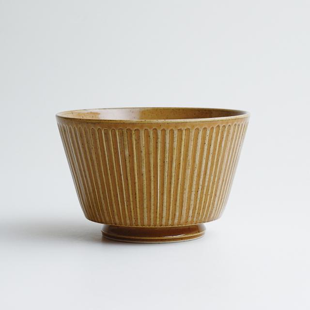 波佐見焼 一誠陶器 浮彫-UKIBORI- ボウル (L)  茶