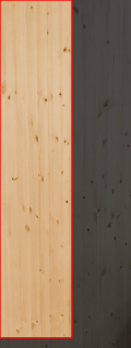 3.0cm厚北欧パイン/長さ 231〜235cm/横幅 46〜50cm