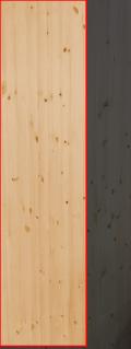 3.0cm厚北欧パイン/長さ 236〜240cm/横幅 56〜60cm