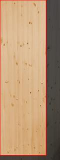 3.0cm厚北欧パイン/長さ 231〜235cm/横幅 66〜70cm
