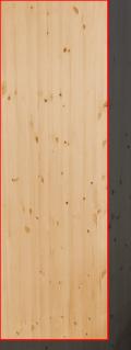 3.0cm厚北欧パイン/長さ 231〜235cm/横幅 71〜75cm