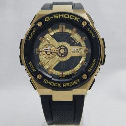 0c8803a247 カシオCASIO Gショック ジーショック G-SHOCK 海外モデル G-STEEL GOLD ゴールド GST-400G-1A9