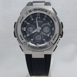6bad9b56ae535 カシオCASIO Gショック ジーショック G-SHOCK 海外モデル G-STEEL ミドルサイズ電波ソーラー アナデジ ...