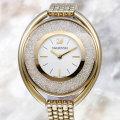 SWAROVSKI スワロフスキー Crystalline Oval Gold Tone ブレスレット クリスタルライン オーバル 5200339