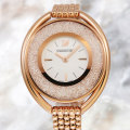 SWAROVSKI スワロフスキー Crystalline Oval Rose Gold Tone ブレスレット クリスタルライン オーバル 5200341