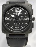 ベル&ロス/BR01-94 Chronograph/PVD ブラック