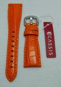 CASSIS/カシス/ガガミラノ用/20mm/レザーストラップ/Orange (086)