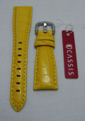 CASSIS/カシス/ガガミラノ用/20mm/レザーストラップ/Yellow (097)