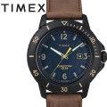タイメックス TIMEX  GALLATIN SOLAR ガラティンソーラー  ブルー×ブラウン TW4B14600 正規品【2019NEWモデル】