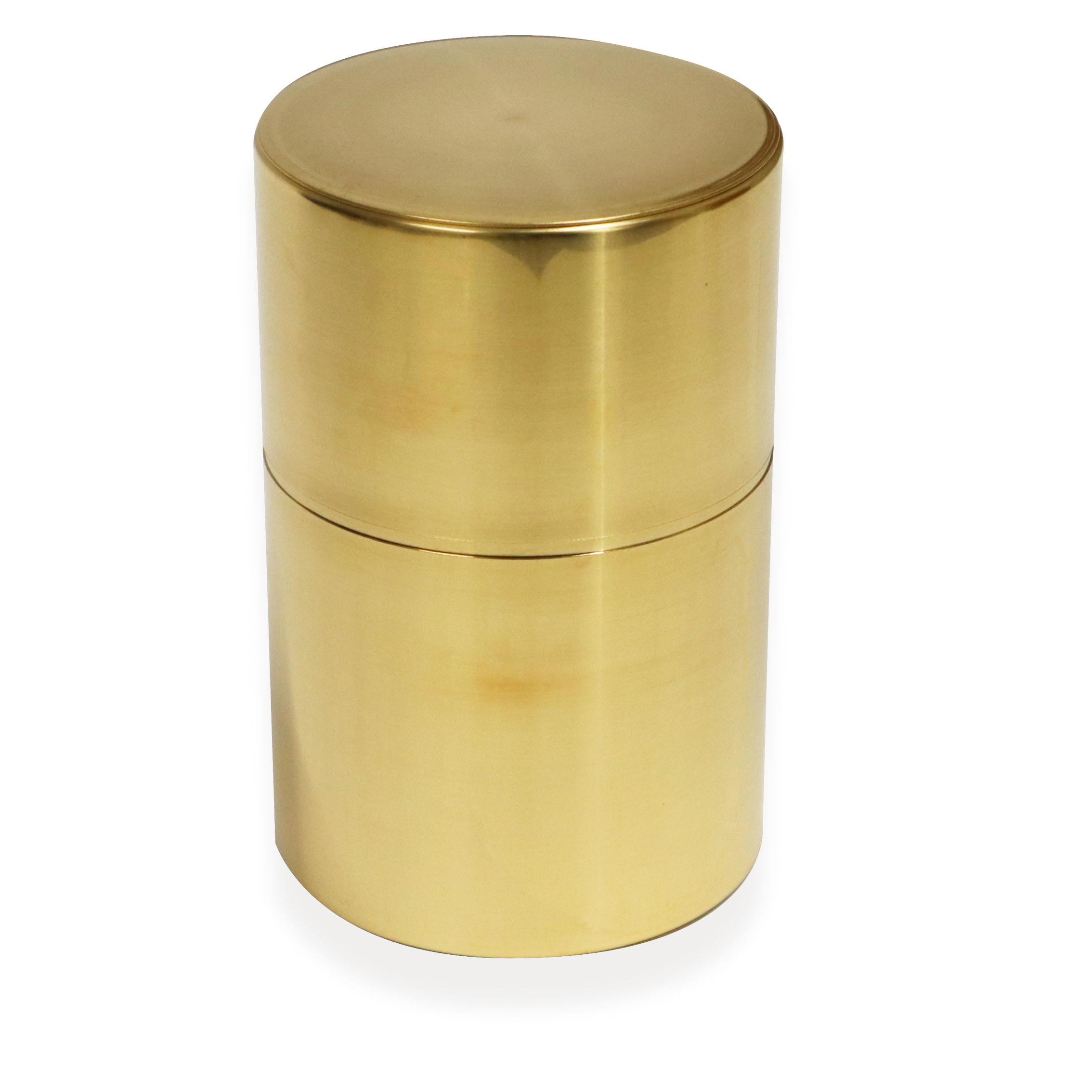 ギフト 真鍮茶筒