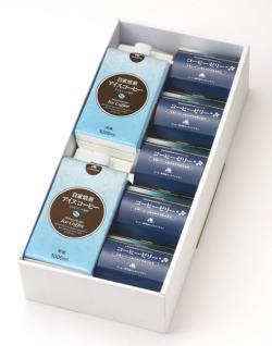 【おすすめサマーギフト】レギュラーアイスコーヒー&コーヒーゼリーギフト(小)