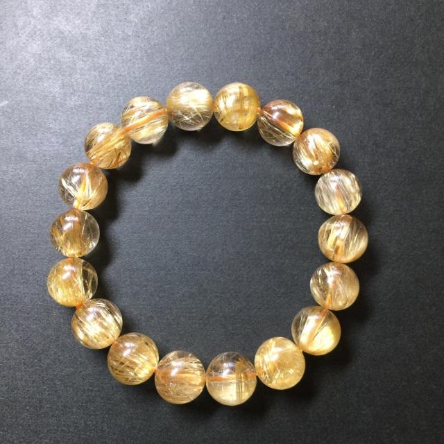 A01011 11-11.5 タイチンルチル,パワーストーン,天然石,通販,ブレスレット,金運