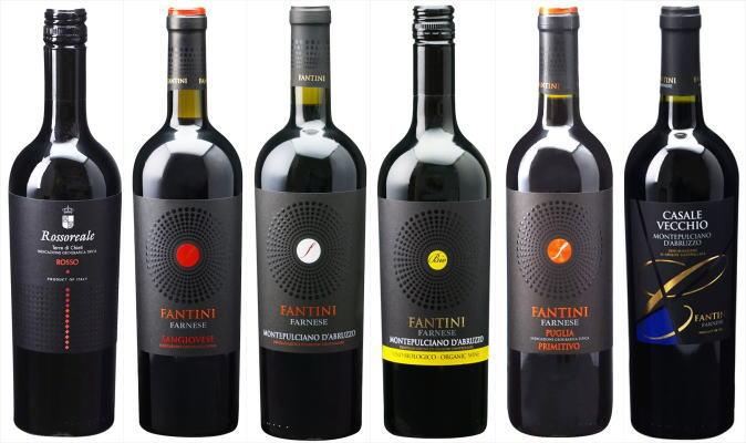 ファルネーゼ赤ワイン6本セット