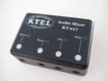 KT019、FTM-10シリーズ用AudioMixer KT017