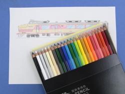 国鉄車両色 色鉛筆24色