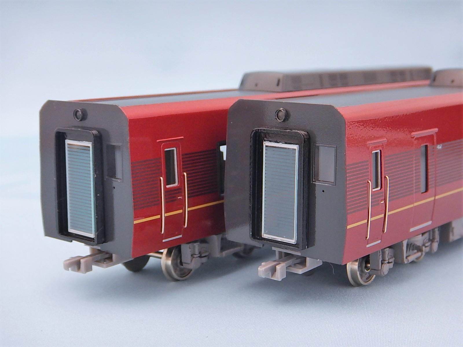 近鉄80000系 ひのとり 増結用中間2両セット