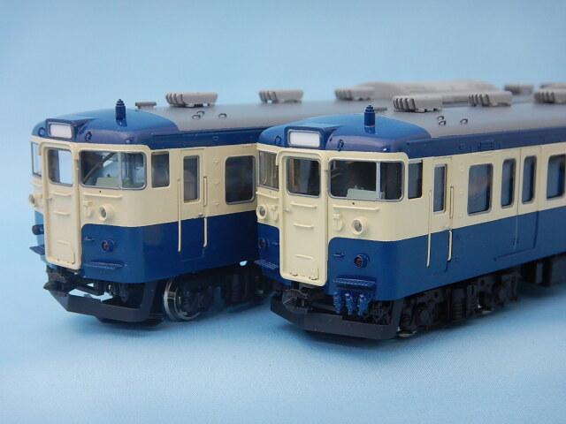 115系300番台 横須賀色 3両塗装済組立キット