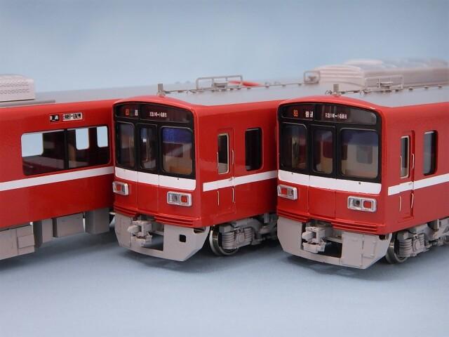 京急1500形 アルミ車(更新車) 1525編成 4両セット