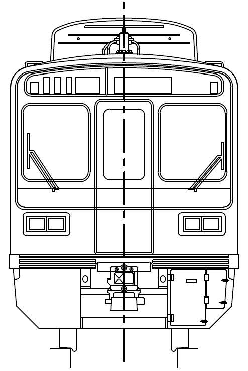 京急1500形 アルミ車(更新車) 1707編成 8両セット