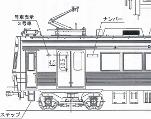 東急7600系 第3編成 キット