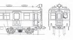 飯田線の旧型国電 クハ68 単品キット