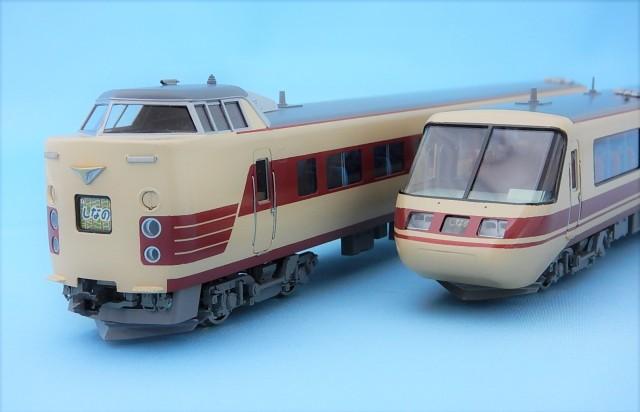 国鉄381系 パノラマしなの 6両Cセット