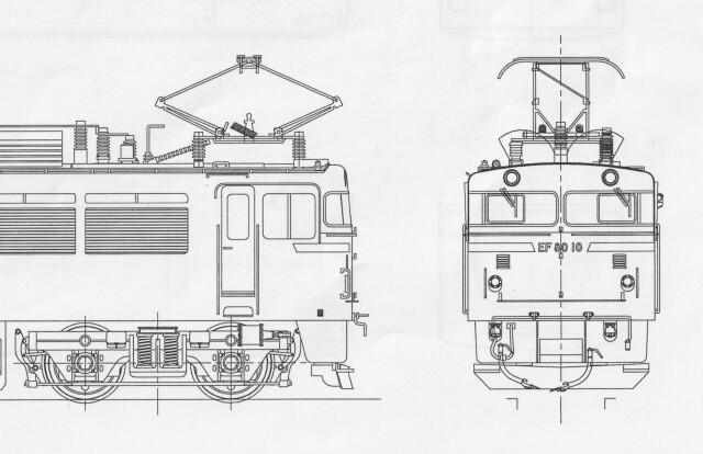 EF80 1次型・車体キット
