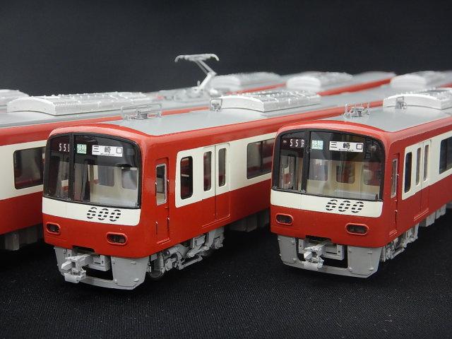 京急新600形 8両編成セット