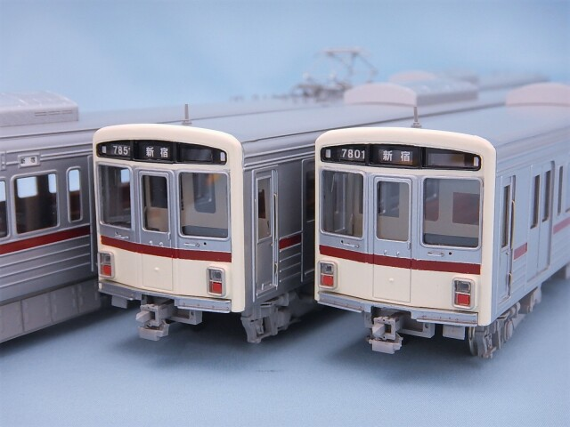 京王7000系 入線当時 4両編成Aセット