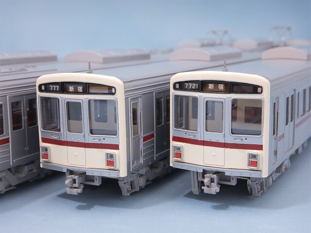 京王7000系 入線当時 8両編成Bセット