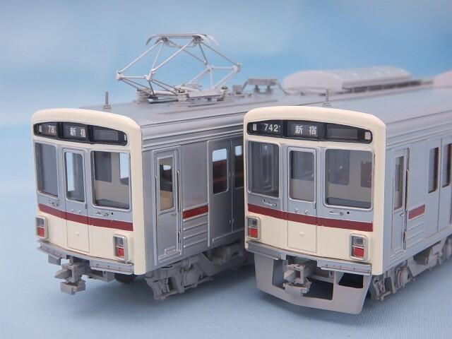 京王7000系 入線当時 2両編成Cセット