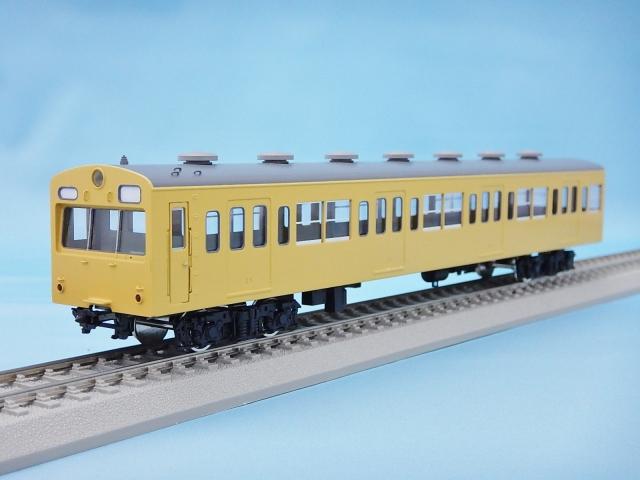 クハ100 非冷房・黄色