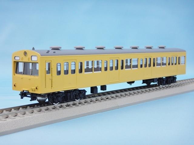 クハ101 非冷房・黄色