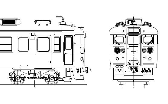 クハ455-1~54 キット