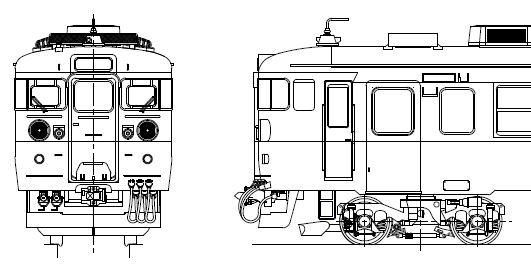 クモハ455-22~36 キット