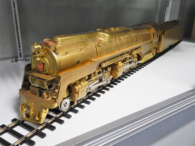 Oゲージ ペンシルバニア鉄道 Q-2 未塗装完成