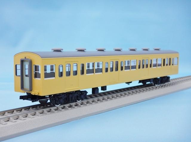 サハ101 非冷房・黄色