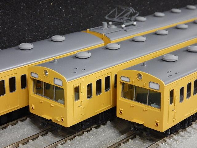 101系 非冷房・黄色 6両セット