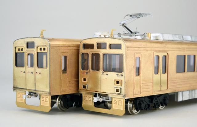 ステンレス電車2両編成キット「オールイン」セット