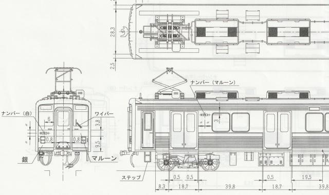 東武10000系 1・2次車 先頭2両Hキット