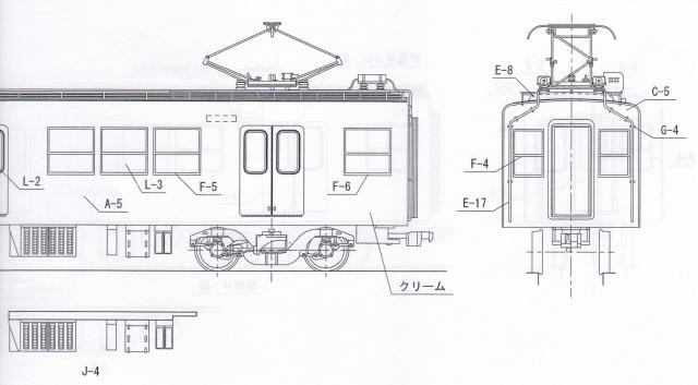 東武2000系 7次車 中間2両Cキット